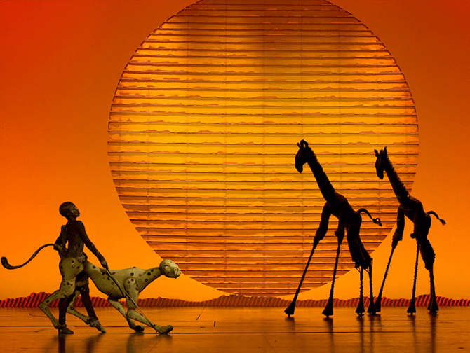 Tickets para The Lion King en Broadway - Escenario