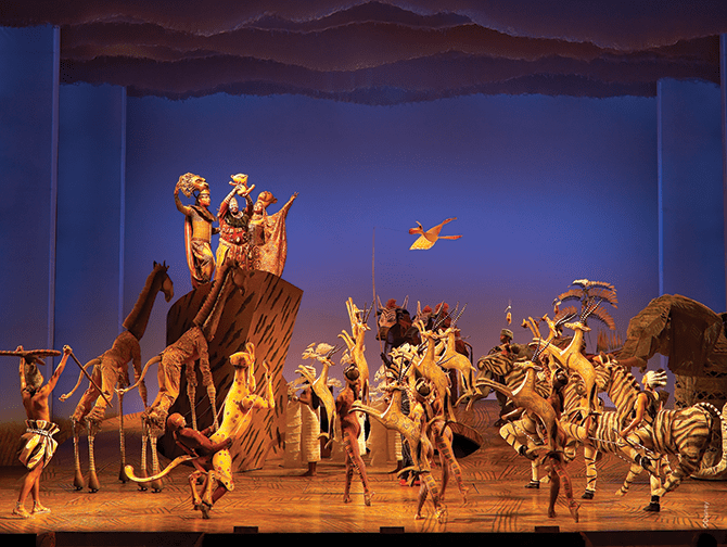 Tickets para The Lion King en Broadway - El ciclo de la vida