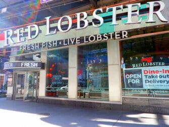Dónde comer con niños en Nueva York - Red Lobster