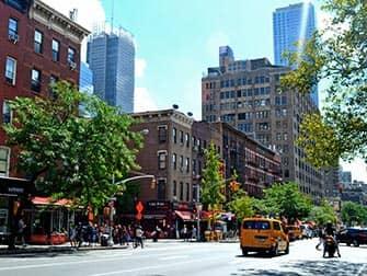 Hells Kitchen en NYC - 9th Avenue