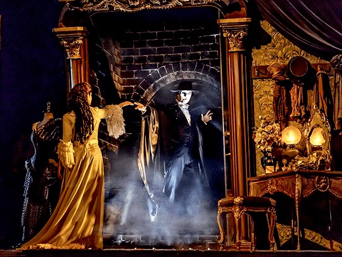 Tickets para The Phantom of the Opera en Broadway - Escenografía