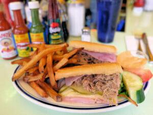 Comida tipica americana en Nueva York