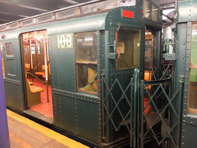 Trenes vintage en Nueva York- tren especial