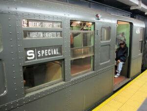 Trenes vintage en Nueva York