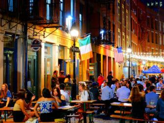 Restaurantes en Stone Street en Nueva York - Bares y restaurantes