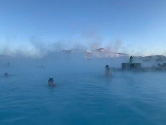 Escala en Islandia - El Lago Azul