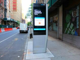 Wi-Fi gratis en Nueva York - Estación
