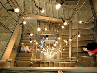 Whitney Museum en Nueva York - escaleras