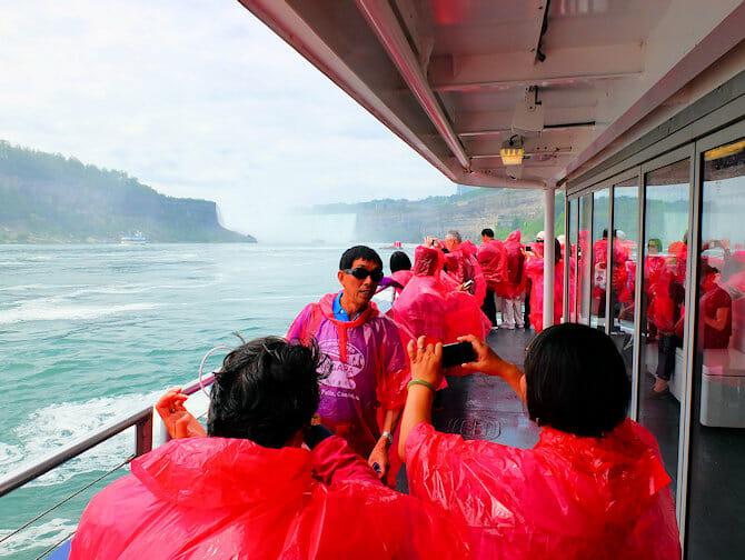 Excursion a Niagara Falls en avion privado - Turistas