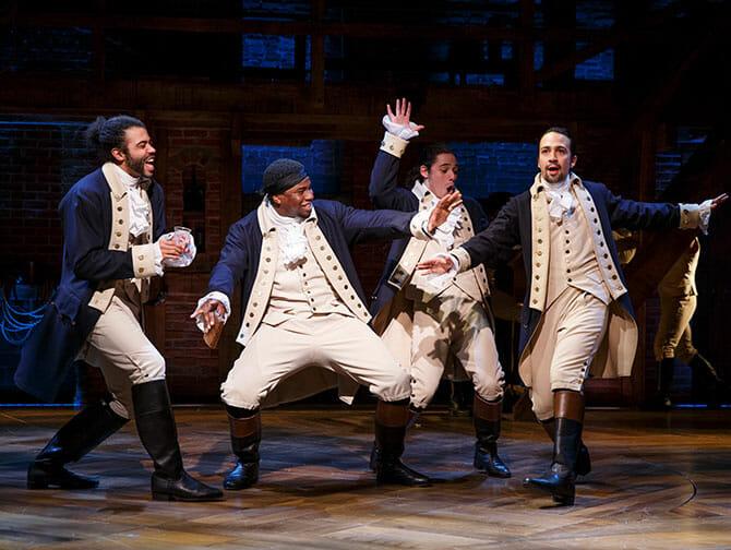 Tickets para Hamilton en Broadway - Un espectaculo de hip hop
