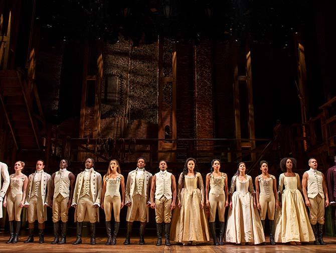 Tickets para Hamilton en Broadway - El elenco