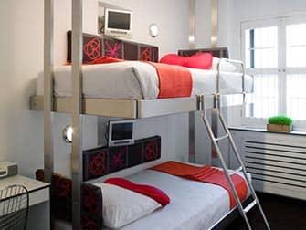 Pod Hotel 51 en Nueva York - Bunk Pod
