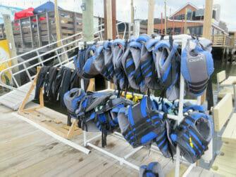 Jet ski en Nueva York - Chalecos salvavidas