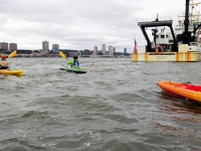 Kayak en Nueva York - Kayaks