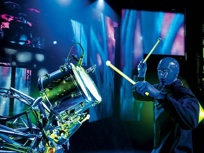 Tickets para Blue Man Group en Nueva York - Percusionista