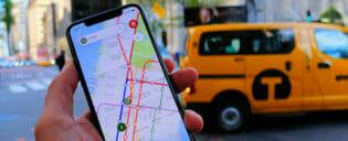 Conectarse a internet y hacer llamadas desde el teléfono móvil en Nueva York