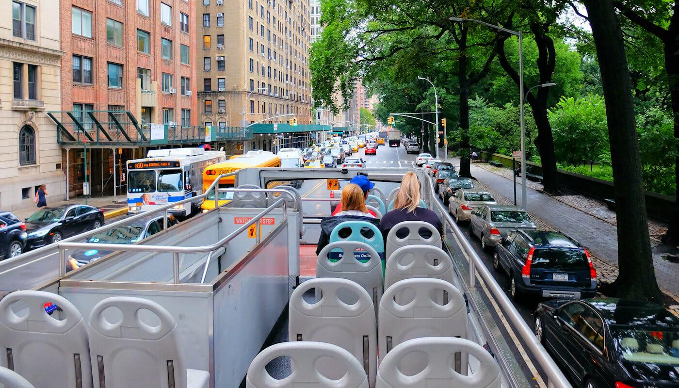 Bus hop on hop off Gray Line en Nueva York - Guia