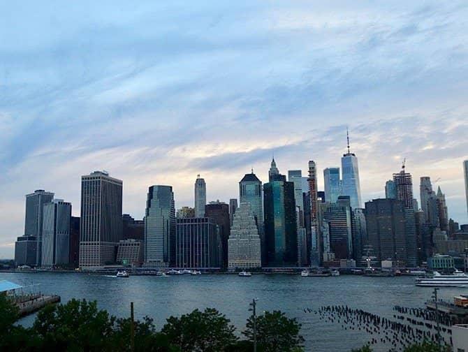 Tour nocturno en Nueva York - Skyline desde Brooklyn