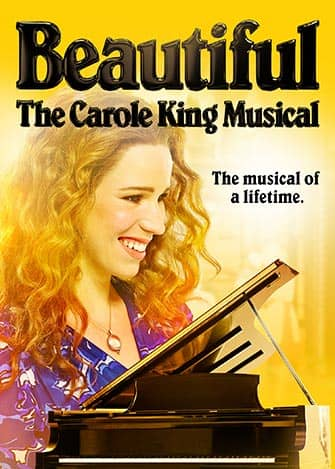 Beautiful The Carole King Musical en Broadway - Cartel