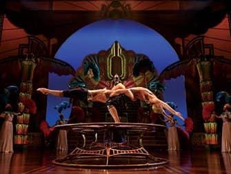 Tickets para Cirque du Soleil en Nueva York - Acrobacias