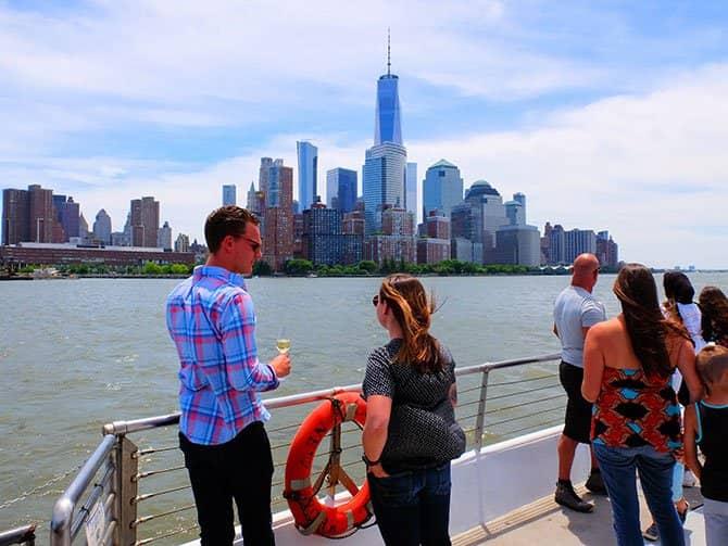 Bateaux crucero con almuerzo en Nueva York - Vistas