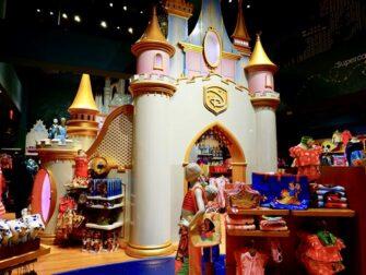 Disney Store en Times Square - Castillo de la princesa