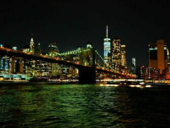 Crucero con cena Hudson River en Nueva York - Vista del skyline