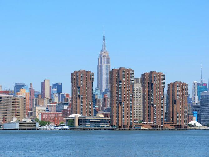 NYC Ferry en Nueva York - Empire State Building