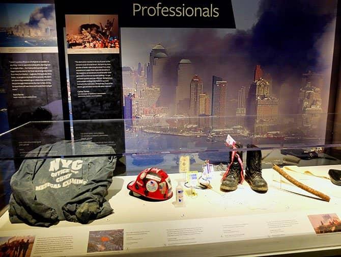 911 Tribute Museum en Nueva York - Artefactos