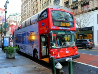 New York Sightseeing Day Pass - Bus hop on hop off