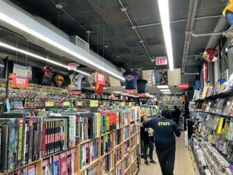 Tour de los superhéroes en Nueva York - Tienda de cómics