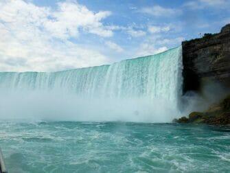 Excursión desde Nueva York hasta Niagara Falls en bus - Vistas desde Maid of the Mist