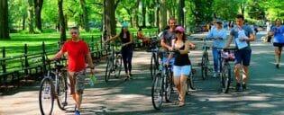 Tour en bicicleta eléctrica en Nueva York