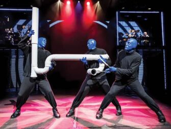 Musicales de Broadway para niños - Blue Man Group