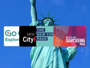 Comparación entre los pases de descuento de Nueva York