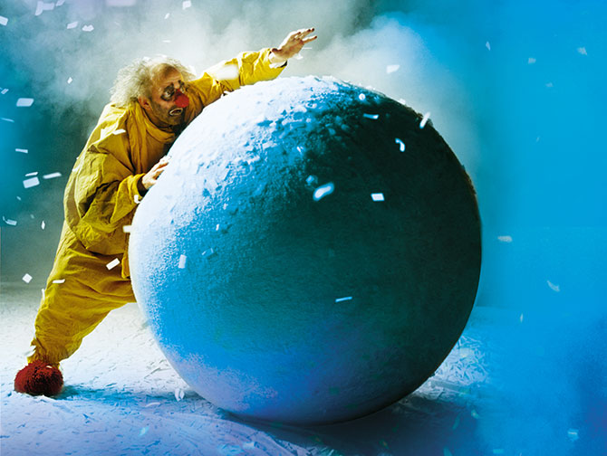Espectáculos navideños en Nueva York - Slava's Snowshow