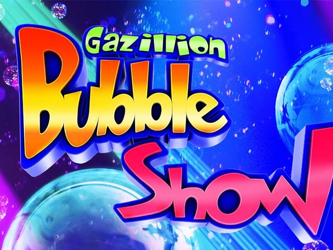 Tickets para Gazillion Bubble Show en Broadway
