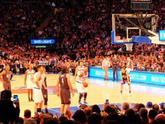 Tickets para los New York Knicks Player ready to score