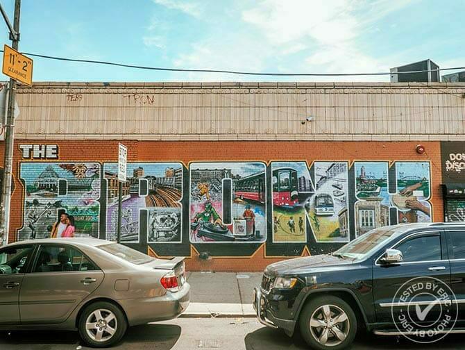 El Bronx en Nueva York - Graffiti