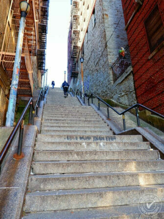 El Bronx en Nueva York - Las escaleras de Joker
