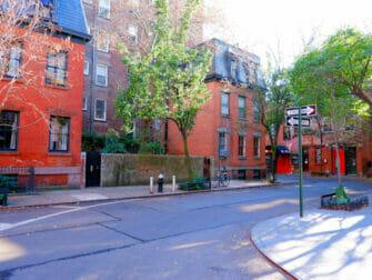 Greenwich Village in New York Calle