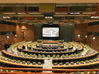 Las Naciones Unidas en Nueva York Trusteeship Council Chamber