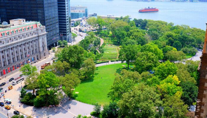 Parques en Nueva York - Battery Park