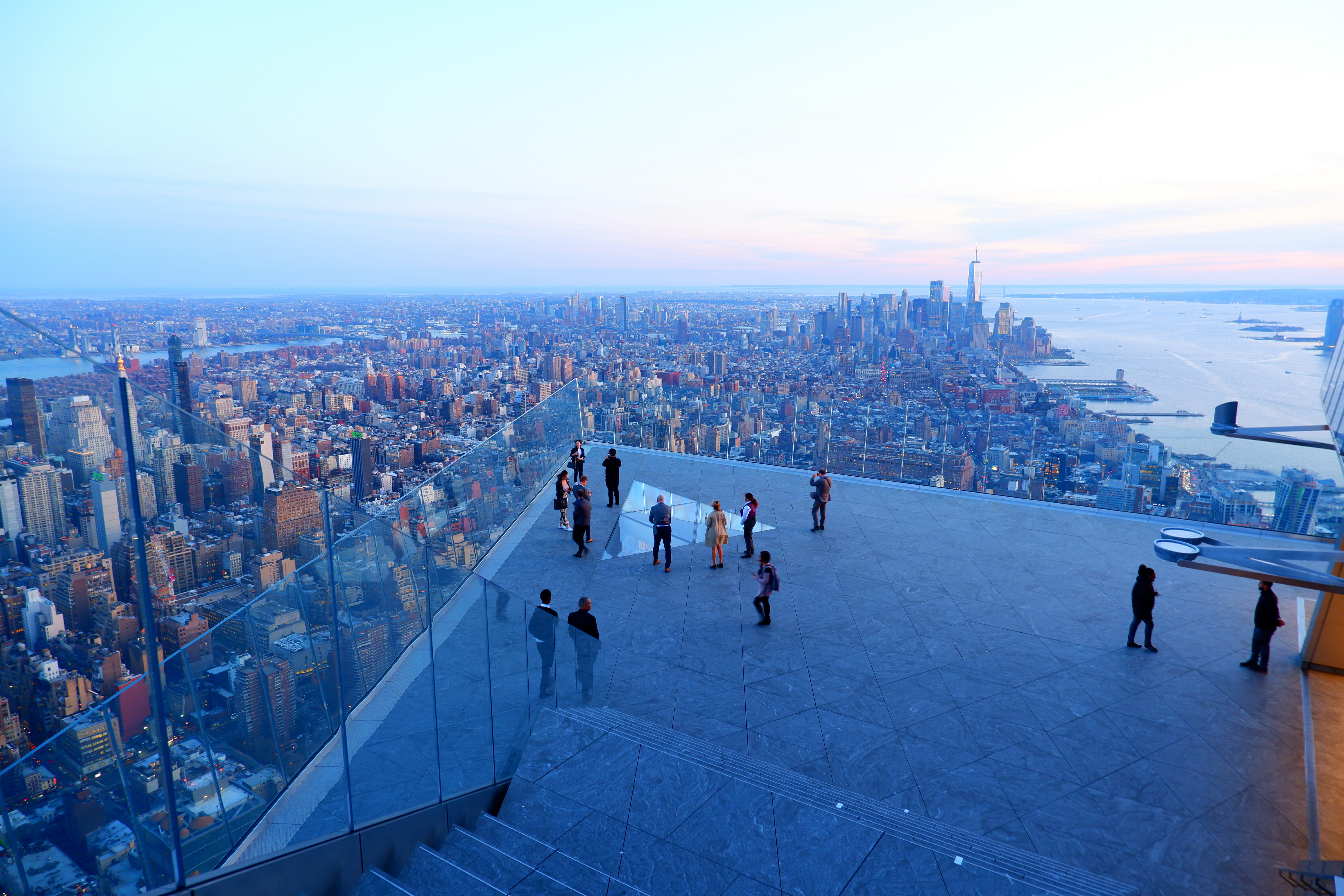 Best view in New York from the Edge High Quality Wallpaper