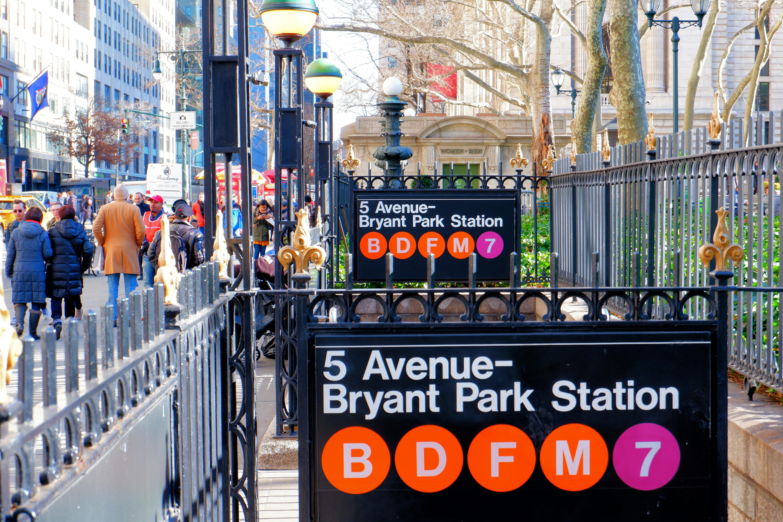 Bryant Park Subway Station High Quality Wallpaper