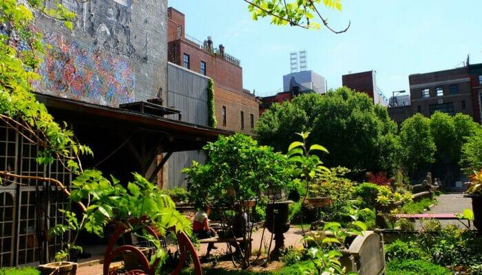 Parques en Nueva York - Elizabeth Street Garden