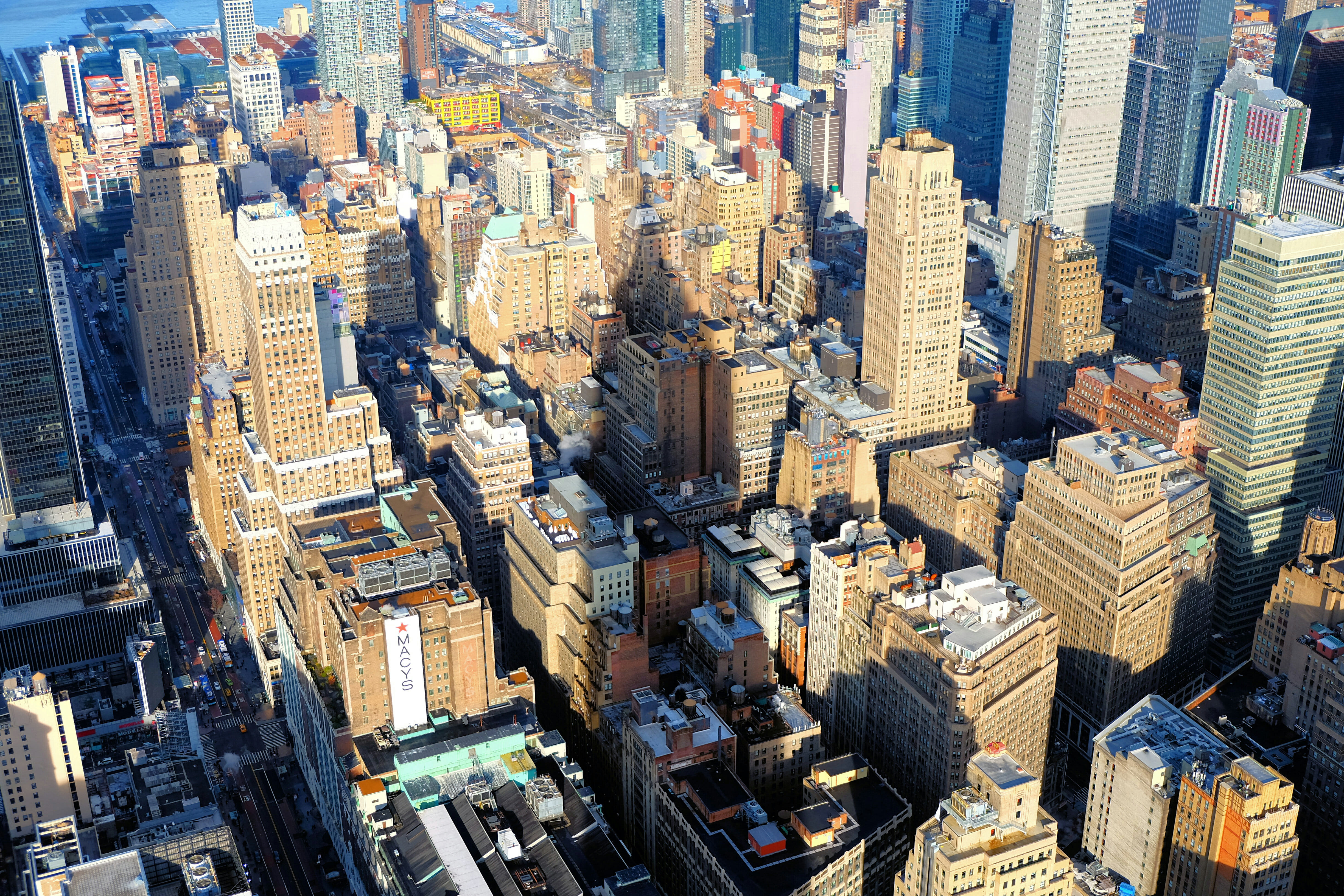 Helicopter Tour in New York Midtown Manhattan High Quality Wallpaper