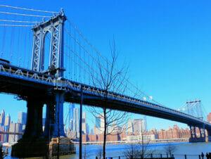 Manhattan Bridge en Nueva York