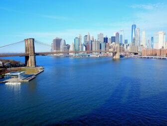 Manhattan Bridge en Nueva York - Vistas del puente