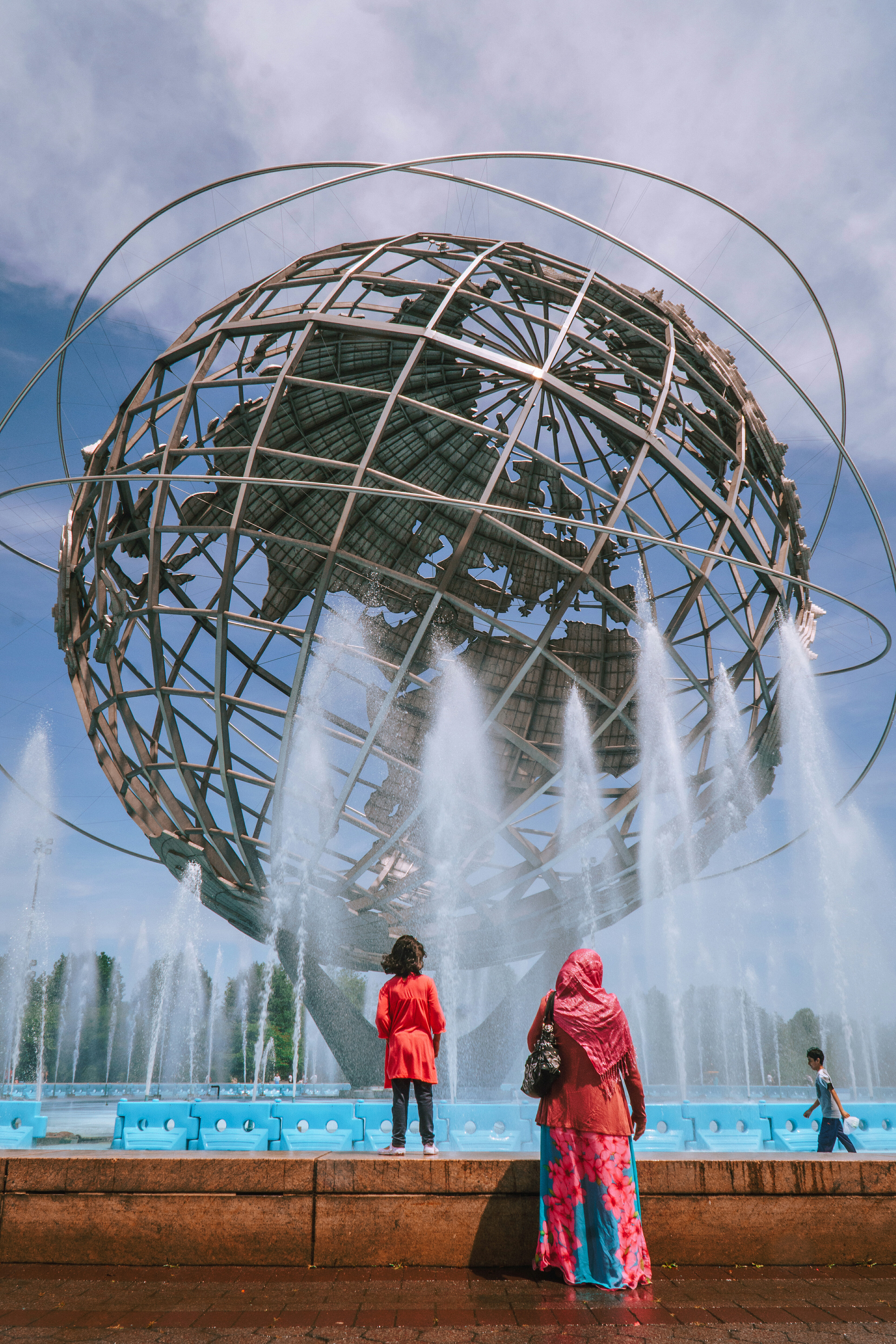 NYC Queens Globe High Quality Wallpaper